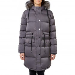 PAJAR EVA Coat with Fur collar for women