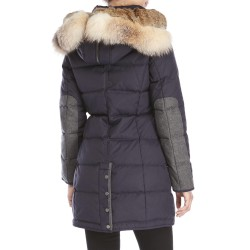 PAJAR QUEENS Coat with Fur collar for women