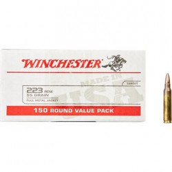 Winchester USA 223 Rem 55...