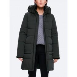 Kanuk - Manteau d'hiver Météorite pour femme - sans fourrure - vert bouteille