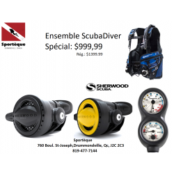 ENSEMBLE SCUBADIVER