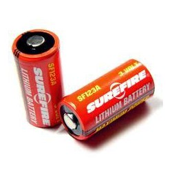 Surefire Lithium 2 batteries
