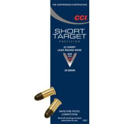 CCI 22 Short Target 29 gr LRN